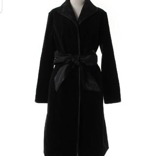 値下げ!美品!ELVISH エルビッシュ ロングコート!ブラック!冠婚葬祭!(ロングコート)