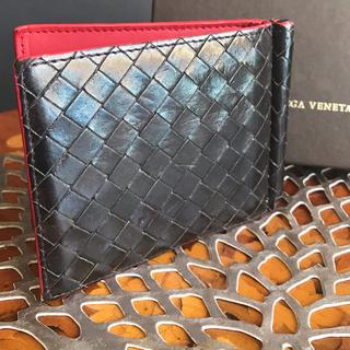 Bottega Veneta - ボッテガヴェネタ イントレチャート   マネークリップ付きウォレット
