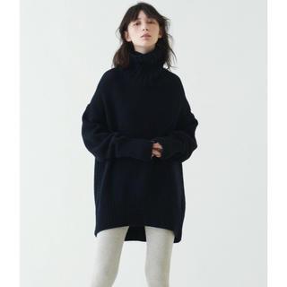 TOMORROWLAND - タグ付き新品⭐️ギャルリーヴィー/ファインウール ハイネックプルオーバー M