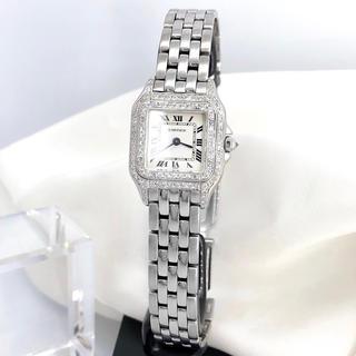 Cartier - 【OH済/仕上済】カルティエ パンテール シルバー SM レディース 腕時計