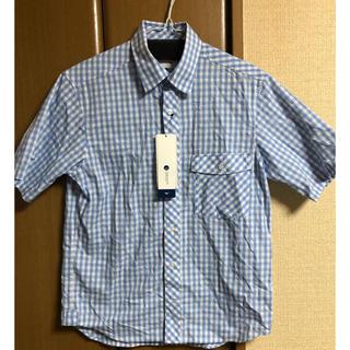 ミズノ(MIZUNO)の新品未使用 ミズノ ギンガムチェック半袖シャツ M(シャツ)