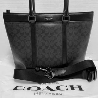 COACH - COACH コーチ メンズ シグネチャートートバッグ