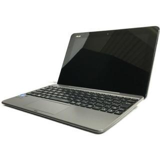エイスース(ASUS)の【中古】ASUS TransBook メタルグレー T101HA-GRAY(ノートPC)