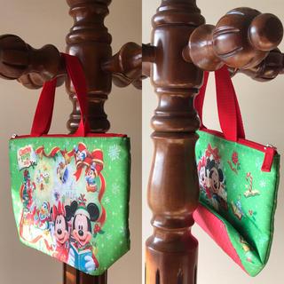 Disney - Disney ディズニー クリスマス ランチバッグ 保温バッグ ハンドバッグ