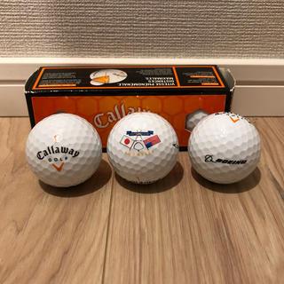 キャロウェイゴルフ(Callaway Golf)のゴルフボール callaway BOEINGコラボ 未使用品 2箱6個(ゴルフ)