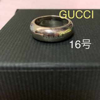 Gucci - 大幅値下げ GUCCI リング 16号(太めの為13号くらいの方へ)