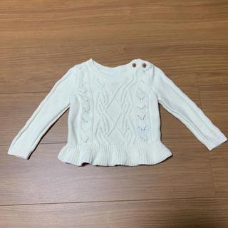 babyGAP - ベビーギャップ  フリルニットセーター