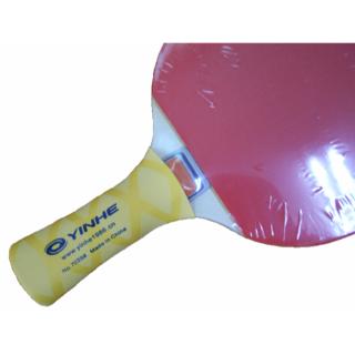 コロナ対策に 卓球ラケット グリップカバー イエロー 1枚(卓球)