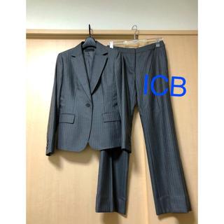ICB - ICB ウール、シルク混  スーツ
