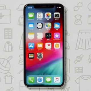 アイフォーン(iPhone)の【A】iPhoneX/64/SIMフリー(スマートフォン本体)