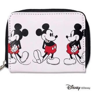 Disney - SHIPS ミッキーマウス 二つ折り財布 mini 付録 ディズニー