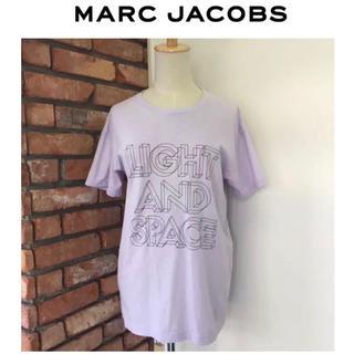 マークジェイコブス(MARC JACOBS)のマークジェイコブス★レディース/XS/Tシャツ★パープル★コットン100%(Tシャツ(半袖/袖なし))