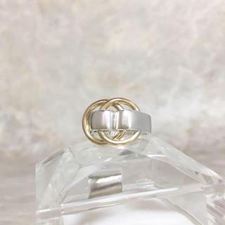 エルメス(Hermes)の正規品 エルメス 指輪 ドゥザノー コンビ シルバー ゴールド ベルト リング(リング(指輪))