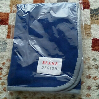 ビームス(BEAMS)の未開封■ビームスデザインのオリジナルブランケット■BEAMS(ノベルティグッズ)