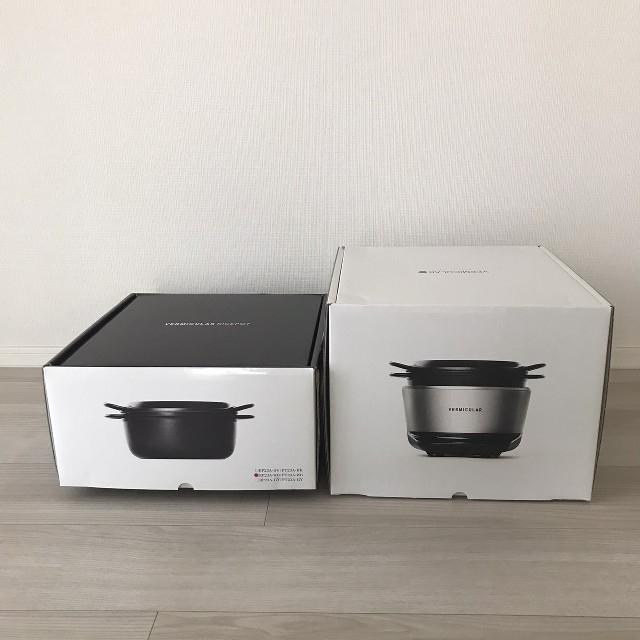 Vermicular(バーミキュラ)のバーミキュラライスポット PH23A 5合 シーソルトホワイト スマホ/家電/カメラの調理家電(炊飯器)の商品写真