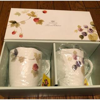 NARUMI - 【NARUMI】ペア マグカップ ルーシーガーデン