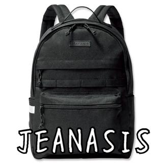 JEANASIS - 【新品】JEANASIS ジーナシス リュック バッグパック ブラック