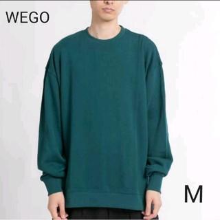 ウィゴー(WEGO)の【新品】WEGO サイドスリットカラープルオーバー  M(スウェット)