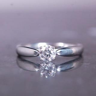 ティファニー(Tiffany & Co.)のティファニー ダイヤ トリプルエクセレント E IF 3EX リング(リング(指輪))