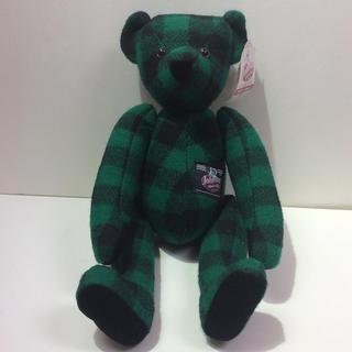 BEAR 人形 ウール素材 熊 人形(置物)