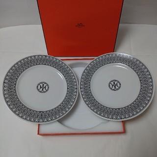 エルメス(Hermes)のエルメス(HERMES) H アッシュデコ プレート皿 (22.5cm)×2枚!(食器)
