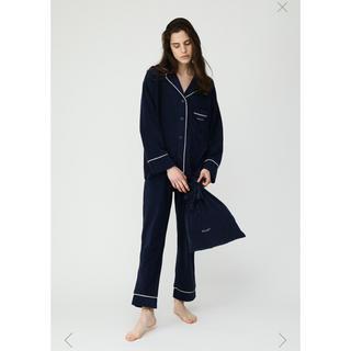 マウジー(moussy)のmoussy ノベルティ パジャマ巾着セット ネイビー 新品未開封(ルームウェア)