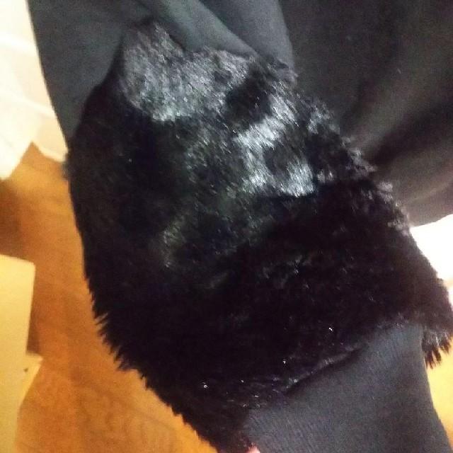 ikka(イッカ)の袖フェイクファー スウェット レディースのトップス(トレーナー/スウェット)の商品写真