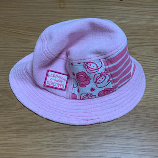 ベベ(BeBe)のe-baby【未使用品】帽子 50cm(帽子)