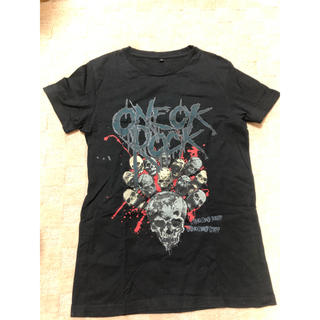 ワンオクロック(ONE OK ROCK)のONE OK ROCK バンドTシャツ 黒(Tシャツ(半袖/袖なし))