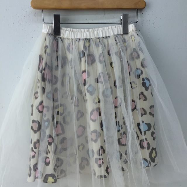 Nina mew(ニーナミュウ)のチュールスカート レディースのスカート(ひざ丈スカート)の商品写真