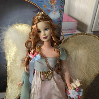 バービー(Barbie)のバービー人形 ゴールデンエンジェル(ぬいぐるみ/人形)