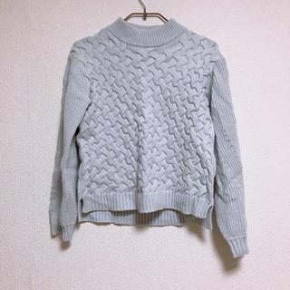 ダブルクローゼット(w closet)の新品  ダブルクローゼット セーター(ニット/セーター)