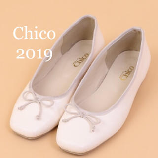 who's who Chico - 2019新品未使用🧸スクエアバレエシューズ