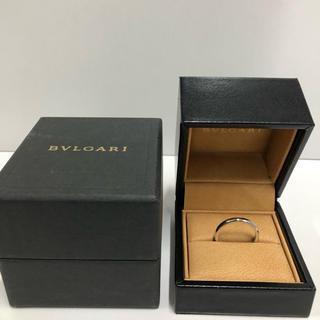 ブルガリ(BVLGARI)の🎁定価129,800円 ブルガリ 結婚指輪 マリッジ リングPT950 17号(リング(指輪))