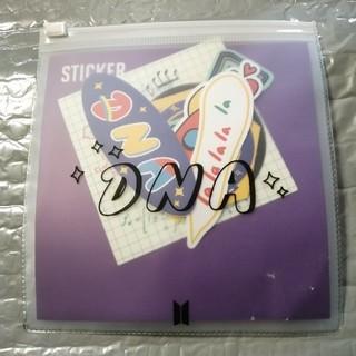 BTS DNA ステッカー(アイドルグッズ)