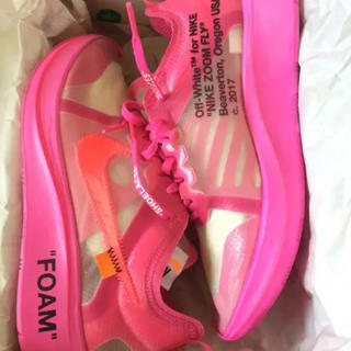 ナイキ(NIKE)のNIKE OFF-WHITE THE TEN FLY ZOOM(スニーカー)