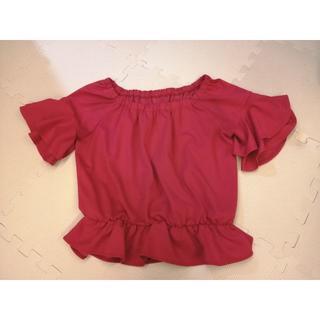 セシルマクビー(CECIL McBEE)のオフショル セシルマクビー (カットソー(半袖/袖なし))
