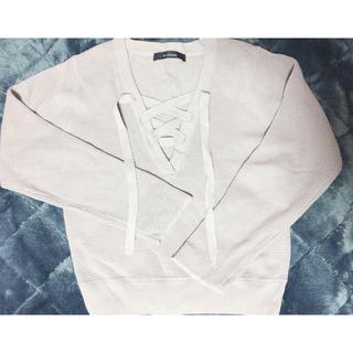 ダブルクローゼット(w closet)のダブルクローゼット セーター(ニット/セーター)