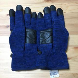 ユニクロ(UNIQLO)のUNIQLO ブロックテック手袋 スマホ操作🆗(手袋)