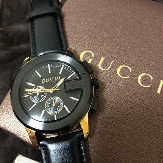 Gucci - GUCCI クロノグラフ メンズ  腕時計 即日発送