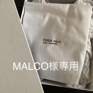 トーガ(TOGA)の新品未使用 TOGA ローファー(ローファー/革靴)