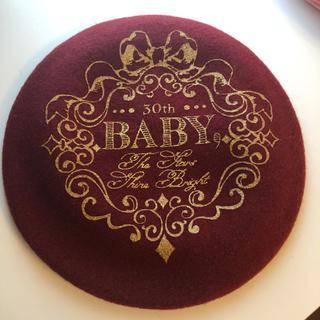 BABY,THE STARS SHINE BRIGHT - baby 30th Anniversary ベレー エンジ 赤