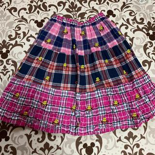 HYSTERIC MINI - 9.刺繍スカート 110