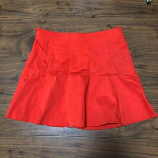 ザラ(ZARA)の赤☆ミニスカート(ミニスカート)
