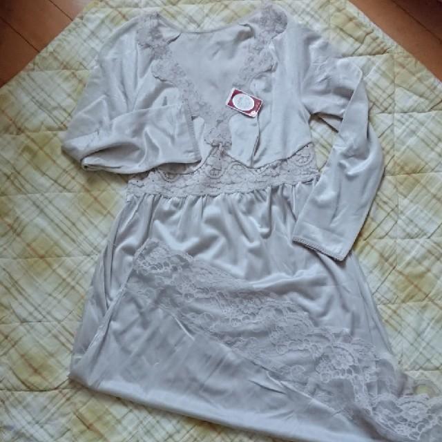 シャルレ(シャルレ)のシャルレ スリップ 長袖 M レディースの下着/アンダーウェア(その他)の商品写真