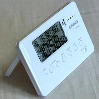 CASIO - 新品!カシオ カードサイズ電波時計 PQD-100CJ-7JF 旅行・出張に!