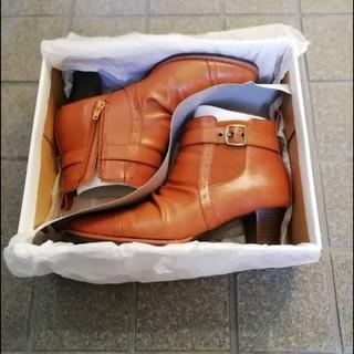 asics - 合皮 ショートブーツ 23.5cm