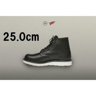REDWING - 25.0cm Fragment Red Wing Round Toe