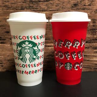 Starbucks Coffee - 海外限定 レア スタバ アメリカ 北米 リユーザブルカップ クリスマス 2019