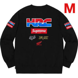 Supreme - (M) supreme honda fox racing crewneck